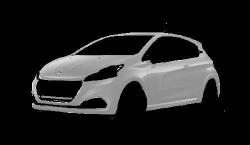 Цвета кузова 208 GTI